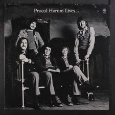 PROCOL HARUM: Procol Harum Lives... LP (promo only, music + 4/71 interview, cor