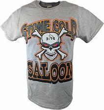 Stone Cold Steve Austin Saloon WWE Mens Gray T-shirt