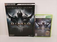 Diablo III: Reaper of Souls - Ultimate Evil Edition (Xbox 360) w/ Game Guide