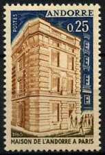 Andorra French 1965 SG#F194 Andorra House MNH #D71807