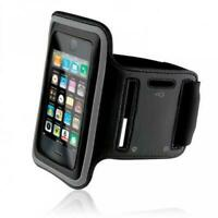 iPod Touch 5 6 7 Gen - RUNNING ARMBAND SPORTS GYM WORKOUT CASE COVER BAND BLACK