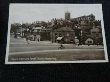 Waters Green and Parish Church Macclesfield Postcard Cheshire - 20868