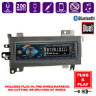 Plug In Bluetooth USB Car Stereo Radio+Dash Mount Mounting Kit for MOPAR Vehicle  for sale