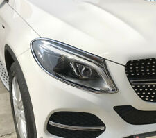 Mercedes GLE COUPE Chrome Headlight Trim Bezels by Luxury Trims 2016-2018