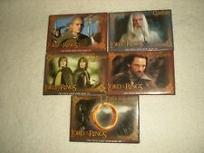 "Lord Of The Rings Pin Badges 2"" X 3"" Lot (5)"
