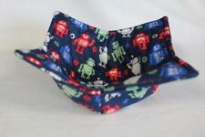 New Quilted Microwave Bowl Holder Bowl Cozy Bowl Potholder Robots