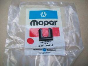 NOS MoPar 1961-1979 Plymouth Fury Belvedere Cuda Duster Brake Hose Lock Clip