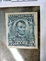 US Stamp Scott #315 Very Fine Mint Hinge/Original Gum 1908 5cent