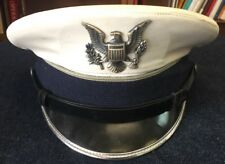 USAF USAFA US Air Force Academy Cadet Service Dress Whites Hat Cap 6 7/8