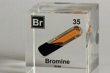 Bromine Element - Acrylic Element Cube
