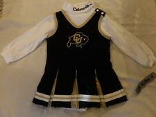 Ncaa Colorado Buffaloes Cheerleader Dress Sz 18 Mos Nwt