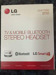 LG Bluetooth Headset BTS1