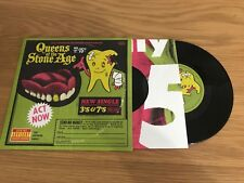 """Queens Of The Stone Age - 3's & 7's - 7"""" Single - Gatefold Sleeve - Part 1/2"""