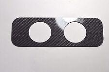 Carbon Fiber 52mm DOUBLE 2 Pod Dash Vent Gauge Holder for S13 240SX 200SX 180SX