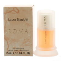 Roma by Laura Biagiotti for Women Mini EDT Perfume Spray .84 oz. New in Box