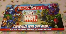 My Marvel Heroes 2006 Monopoly Customizable Collectors Edition