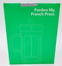 French Press Coffee Maker Tea Pot Plunger Glass Stainless Steel
