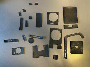Rollei Rolleiflex SL66 Belederung  Außenteile Satz nicht ganz vollständig  SL 66