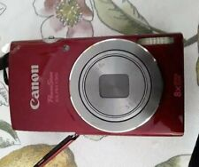 Canon PowerShot ELPH 135 16.0MP Digital Camera Nice RED Color pc2048 NO CHARGER