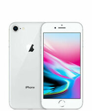 New Sealed Apple iPhone 8 64GB Silver 4G LTE Unlocked iOS Smartphone