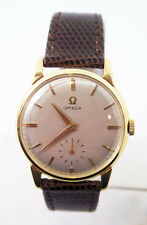 Vintage 18k Gold OMEGA Winding Watch 2894 c.1950s Cal 267* EXLNT* SERVICED