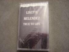 SEALED RARE ADV PROMO Lisette Melendez CASSETTE TAPE True To Life r&b Louie Vega