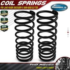 2x Coil Springs Front Suspension for Land Rover Discovery II 1998-2002 2.5 Td5