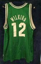 New listing RARE VTG 90s NBA Champion BOSTON CELTICS RARE DOMONIQUE WILKINS Jersey 48 Bird