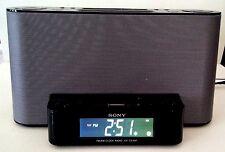 Sony ICF-CS10iP Dream Machine Speaker Dock AM FM Clock Radio For iPod iPhone