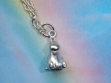 MOOMIN VALLEY TROLL 3D CHARM PENDANT NECKLACE MUMINTROLL SILVER IN GIFT BAG