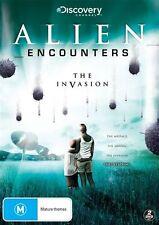 Alien Encounters - The Invasion (DVD, 2014, 2-Disc Set) Brand New  Region 4