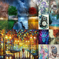 5D Diamond Painting Cross Stitch Embroidery Art Craft DIY for Xmas Home Decor US