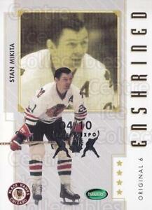 2003-04 Parkhurst Original Six Chicago Blackhawks Spring Expo #83 Stan Mikita