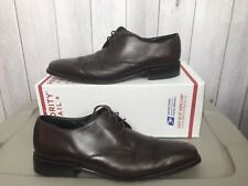 Paul Smith Mens Size 9 Oxford Dress Shoes Brown Leather 7033 Kim D1 Sz 43 EUR