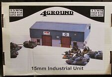 4Ground 15S-CWG-110 15mm Cold War Gone Hot Industrial Unit (1) Miniature Terrain