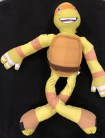 "TMNT Teenage Mutant Ninja Turtle Michelangelo 30"" Nickelodeon Stretchkins Plush"