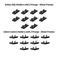 Replacement Single Bed Slat Holders for 63mm or 60mm Sprung Bed Slats - 2 Prongs