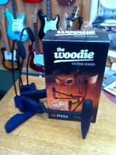 Fretz Woodie Guitar Stand  Blue Ex Display Special Price