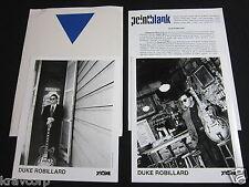 DUKE ROBILLARD 'DANGEROUS PLACE' 1997 PRESS KIT—2 PHOTOS