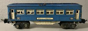 Lionel 2613 Blue Pullman Car - PreWar 1938-1942