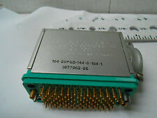 104-20Pgd-144-6-104 Continental Connector New Old Stock 12Pcs