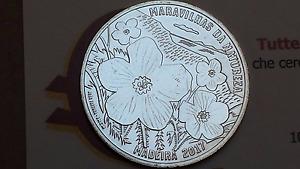 7,5 euro 2017 Ag argento 50% Portogallo Portugal Madeira Португалия ポルトガル 葡萄牙