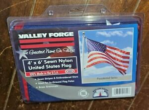 Valley Forge US4PN 4' x 6' Presidential American Nylon Flag