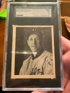 1939 Playball #95 Whit Wyatt Brooklyn Dodgers SGC 60 EX. 5!   Rare!  BV $125+