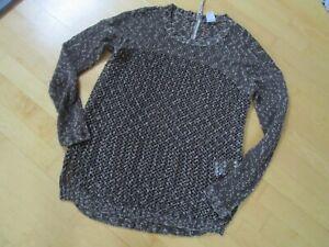 Herbst/Winter Strickpulli Pullover Vero Moda Gr.S braun ausgefallen