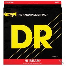 DR MR-45 Hi-Beam Medium 4-String Bass Guitar Stainless Steel Strings (45-105)
