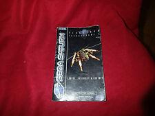 sega saturn~ Instruction Booklet ~ For firestrom thurnderhawk