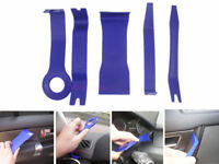 5 Piece Car Door Plastic Trim Panel Dash Installation Removal Pry Tool Kit Blue
