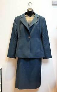 Vivienne Westwood Red Label Suit Jacket 48 / Skirt 46 / Size UK 14 - 16 Blue