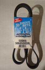 Drive Rite Automotive Serpentine Belt Part # 500K6